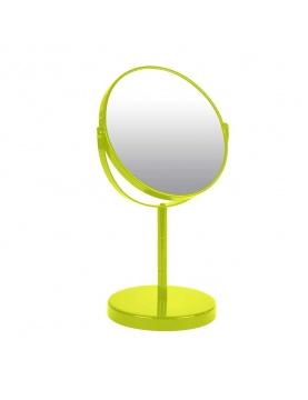 Miroir sur Pied Grossissant X1/X2 en Métal Coloré