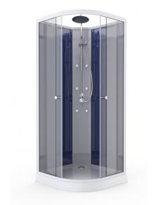 Cabine de Douche avec Système d'Hydromassage