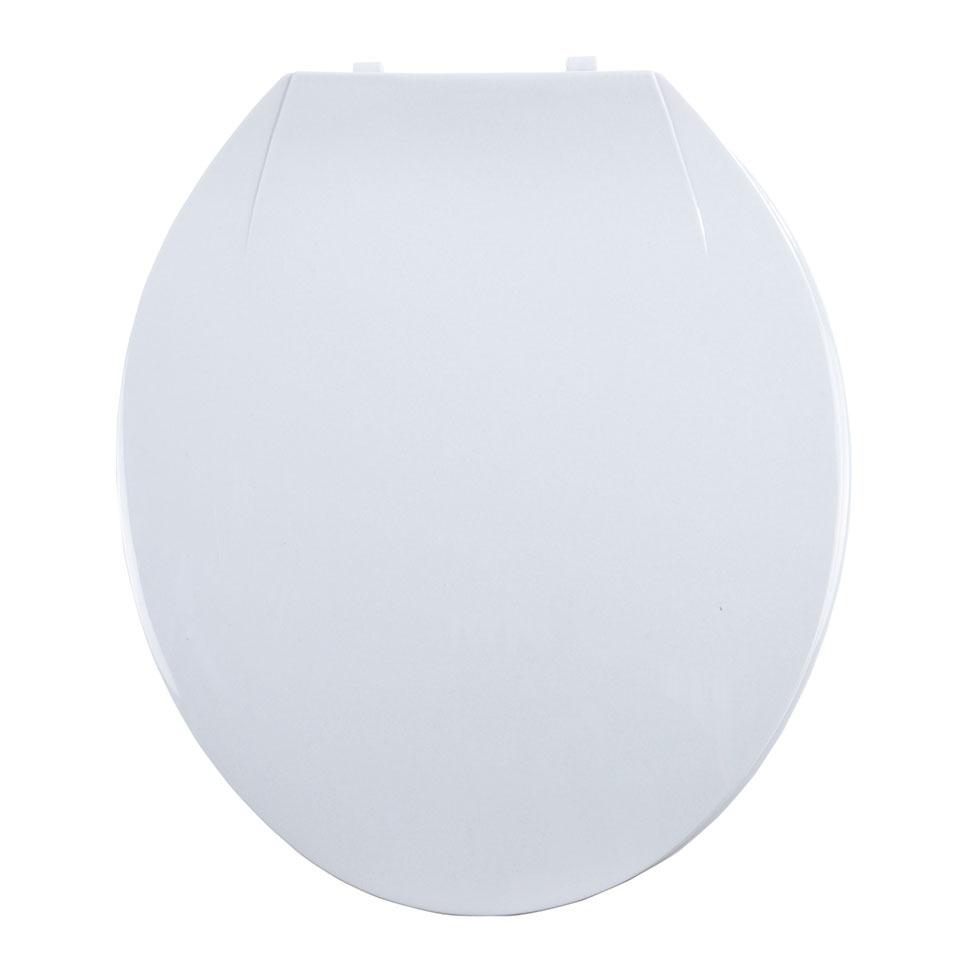 Abattant WC Coloré avec Charnières en Plastique (Blanc)