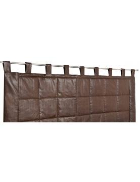 Rideau tête de lit imitation cuir