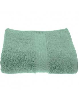 Serviette de Toilette Unie en Coton celadon