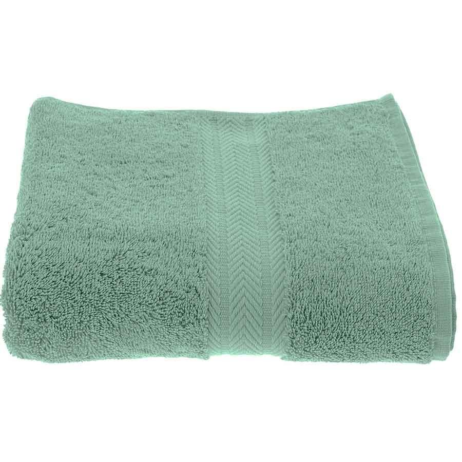 Serviette de Toilette Unie en Coton celadon (Céladon)