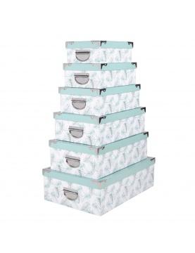 Set de 6 boîtes gigognes Soledad