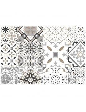 Set de table carreaux de ciment