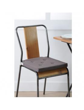 Galette de chaise à velcro