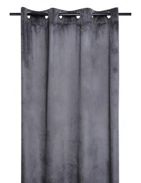 Cortina gruesa Lisa Aspecto Terciopelo