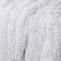 Plaid à poils longs pailletés (Neige)