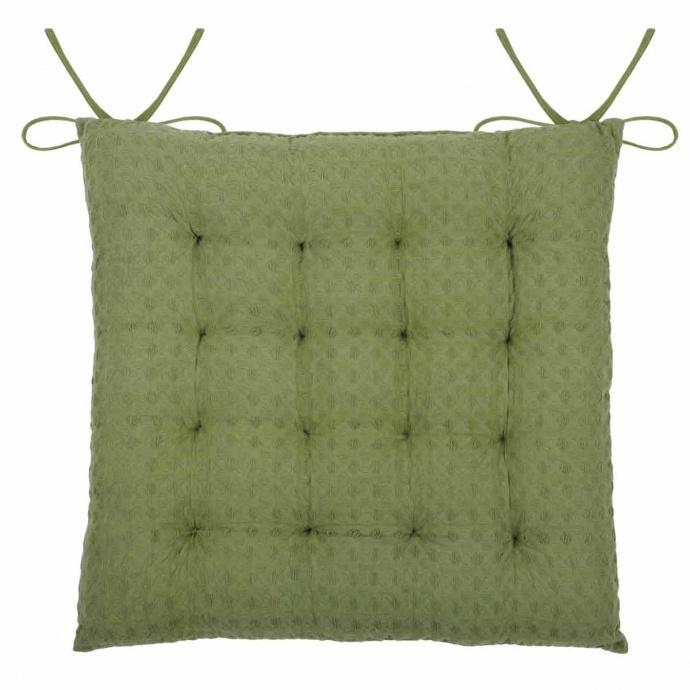 Galette de chaise matelassée en nid d'abeille (Souris)