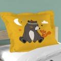 Parure de couette imprimée ourson indien ( Multicolore)