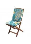 Coussin de fauteuil outdoor aux mille fleurs