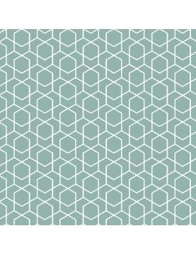 Tissu imprimé géométrique