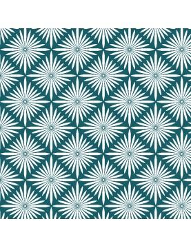 Tissu imprimé art déco en 100% coton