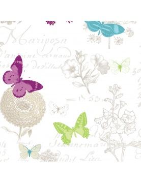 Tissu imprimé butterfly