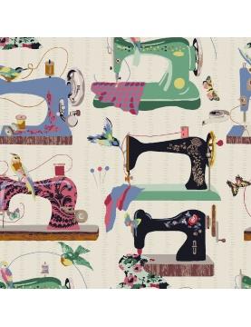 Tissu imprimé couture