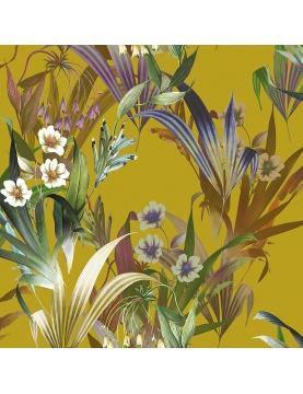 Tissu imprimé fleuri