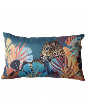 Coussin non déhoussable imprimé Jungle