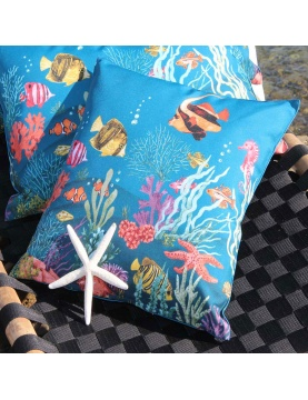 Coussin outdoor Atlantide
