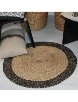Tapis rond Bhopal