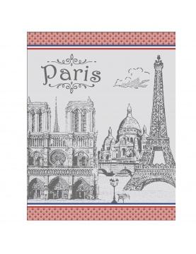 Torchon de cuisine monuments de Paris