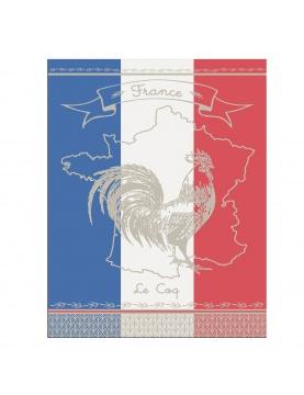 Torchon de cuisine Vive la France