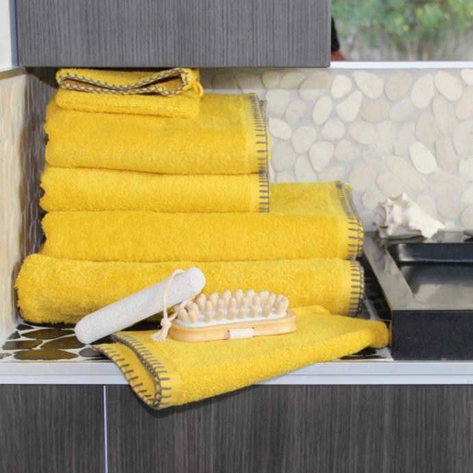 Serviette de bain grand hôtel (Anthracite)