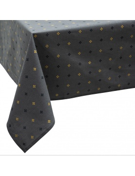 Nappe en coton impressions géométriques