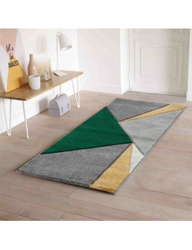 Tapis aux triangles colorés
