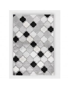 Tapis déco à motifs géométriques