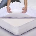 Drap housse de protection en tencel (Blanc)