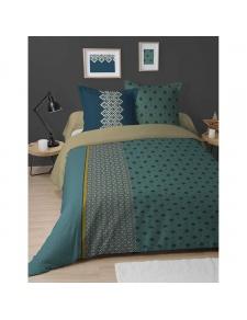 Parure de lit imprimée art décoratif