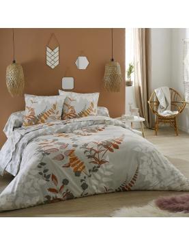 Parure de lit en flanelle Flora