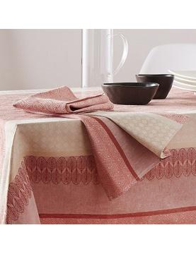 Lot de 3 serviettes jacquard Charleston