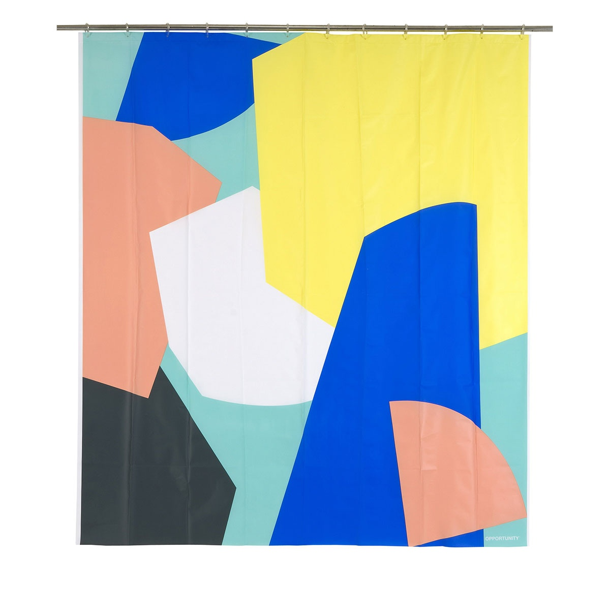 Rideau de douche au design multicolore ( Multicolore)
