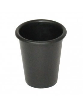 Gobelet uni noir