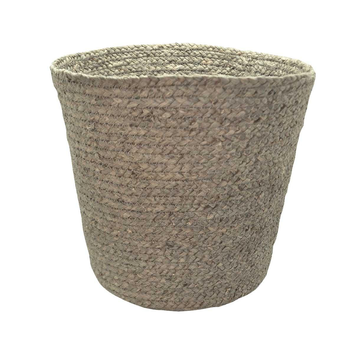 Poubelle naturelle en fibre de mais (Taupe)