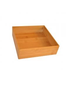 Organizer carré en bambou (maxi)