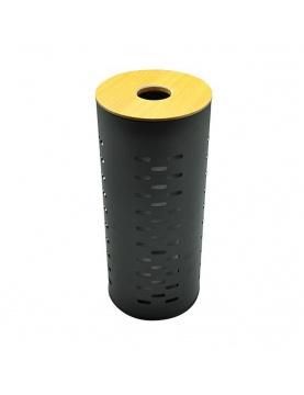 Stockeur de papier toilette en métal