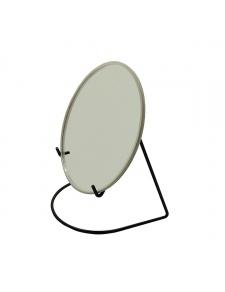 Miroir grossissant avec socle métal coloré