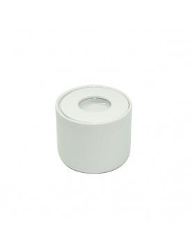Pot à coton en porcelaine
