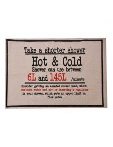 Tapis de bain en coton vintage