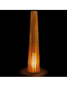 Lampe d'extérieur en teck