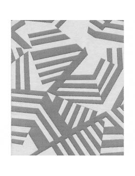 Tissu jacquard imprimé géométrique