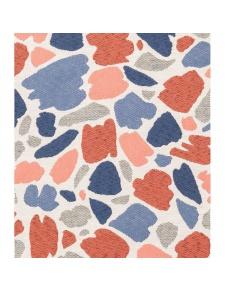 Tissu imprimé tâches multicolores