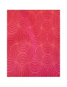 Tissu déperlant imprimé géométrique