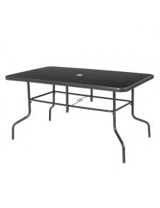 Table de jardin aux pieds design