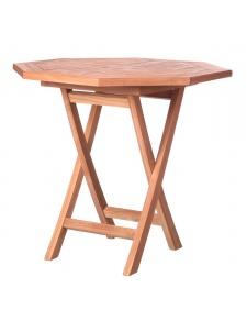 Table octogonale en teck