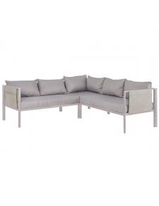 Canapé d'angle avec portes revues