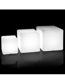Cube lumineux d'extérieur décoratif
