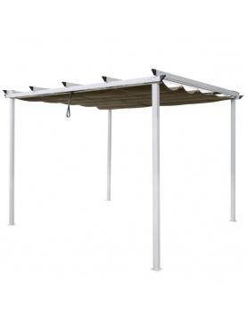 Pergola à toit coulissant