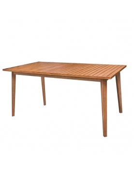 Table rectangulaire en acacia